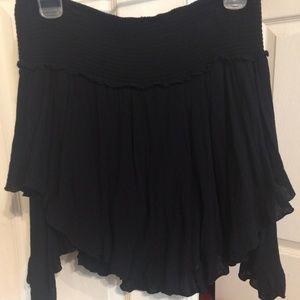 Free People pull-on mini skirt Sz M